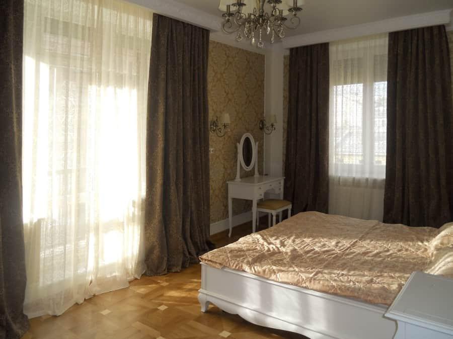 Фото штор 30: спальня