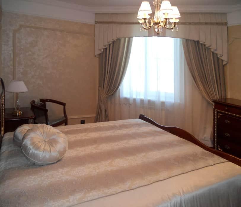 Фото штор 31: спальня