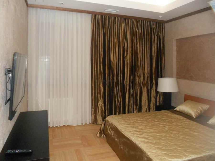 Фото штор 32: спальня