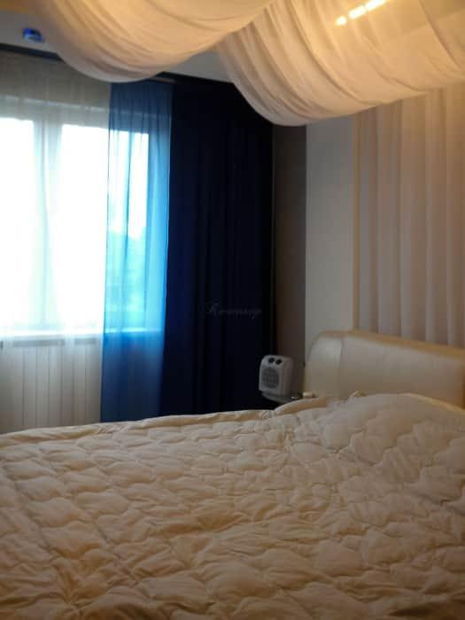 Фото штор 35: спальня