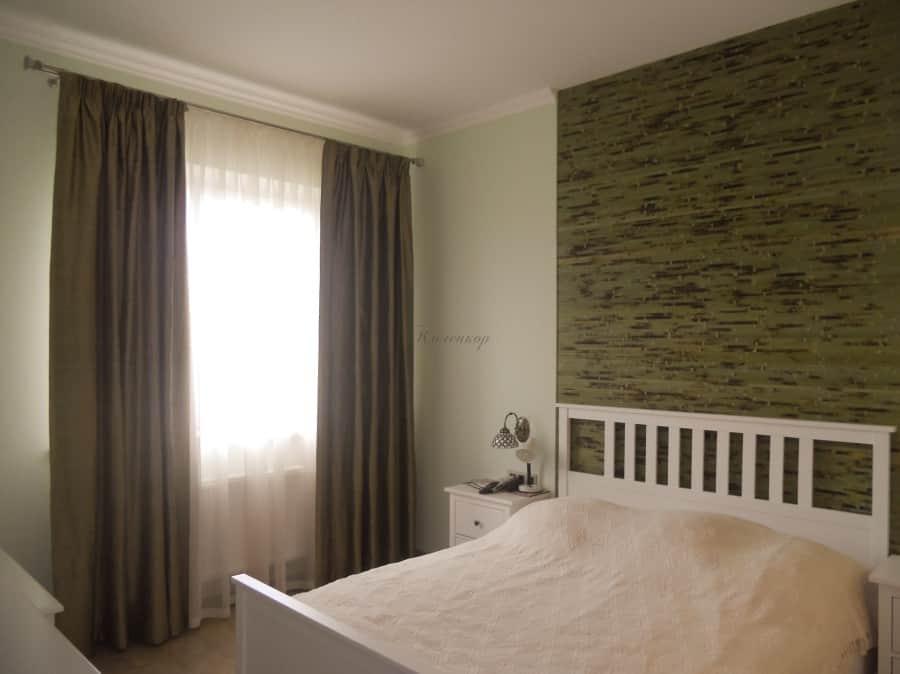 Фото штор 36: спальня