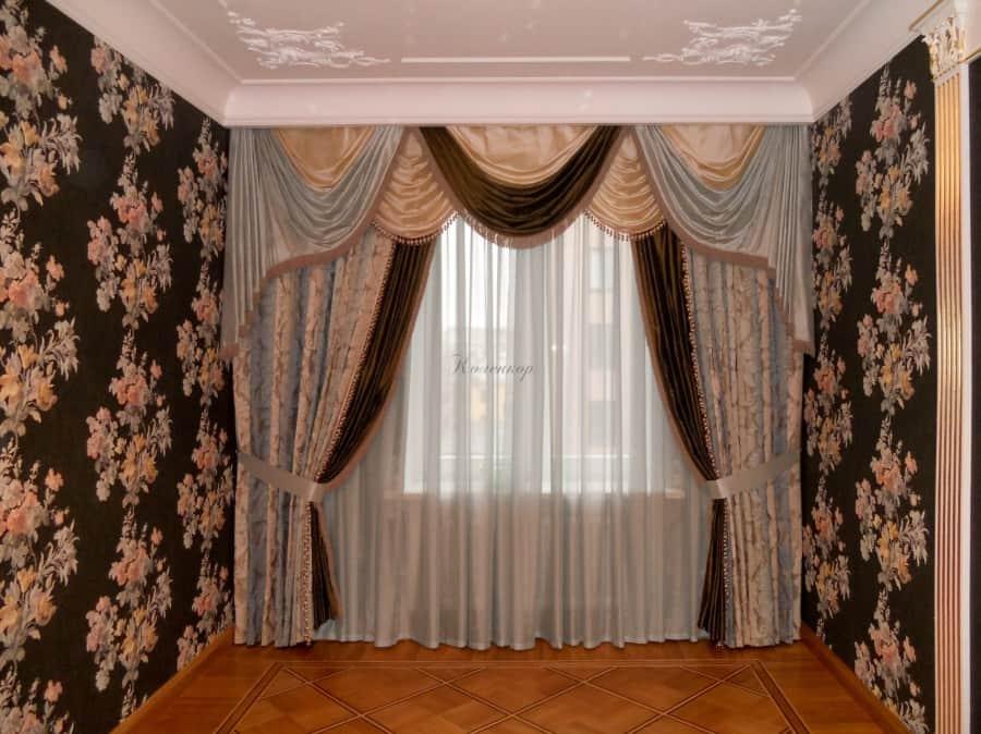 Фото штор 4: спальня