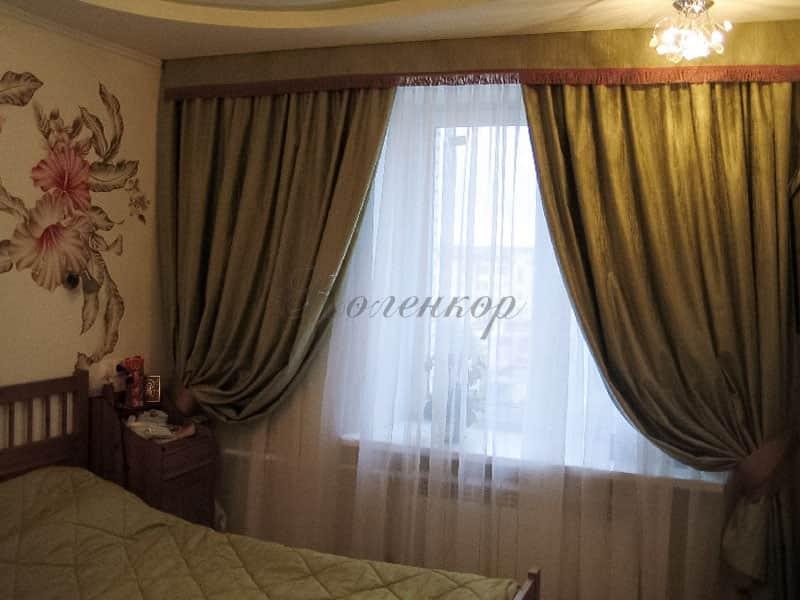 Фото штор 46: спальня