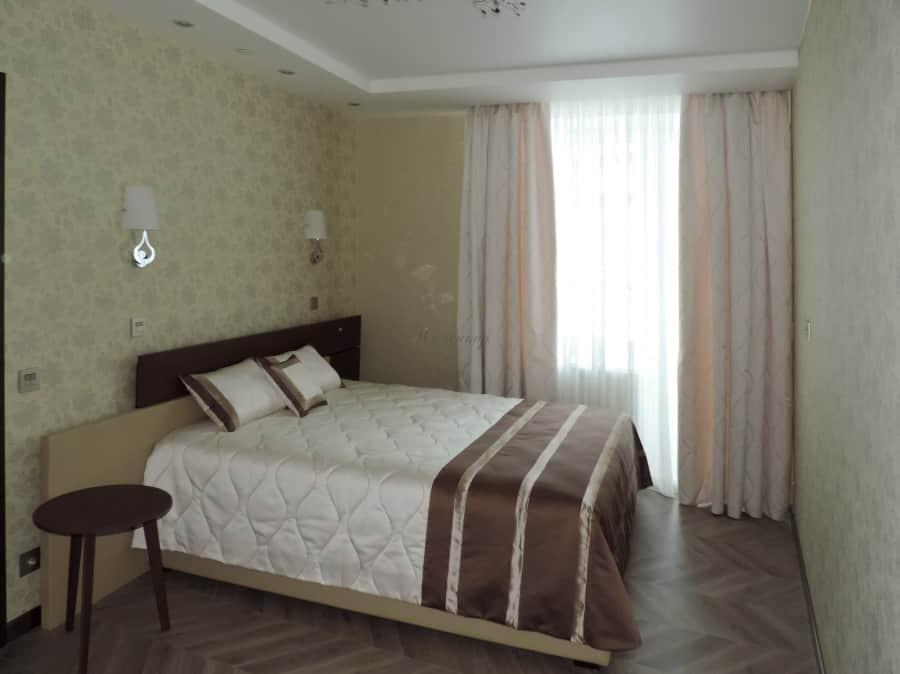 Фото штор 48: спальня