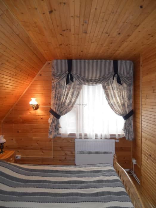 Фото штор 55: спальня