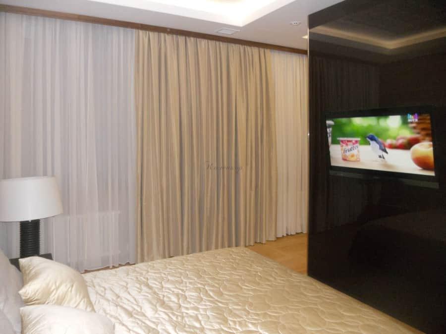 Фото штор 56: спальня