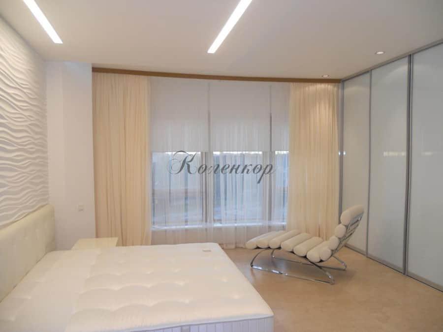 Фото штор 1: спальня