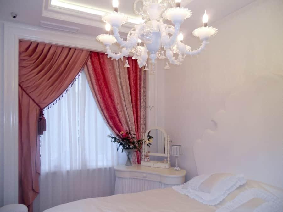 Фото штор 60: спальня