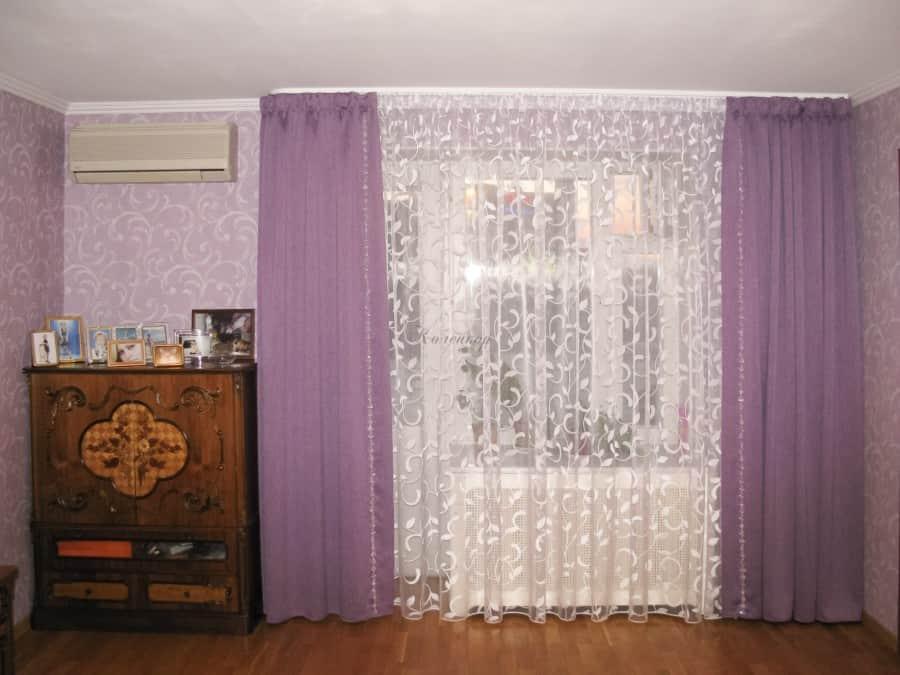 Фото штор 65: спальня