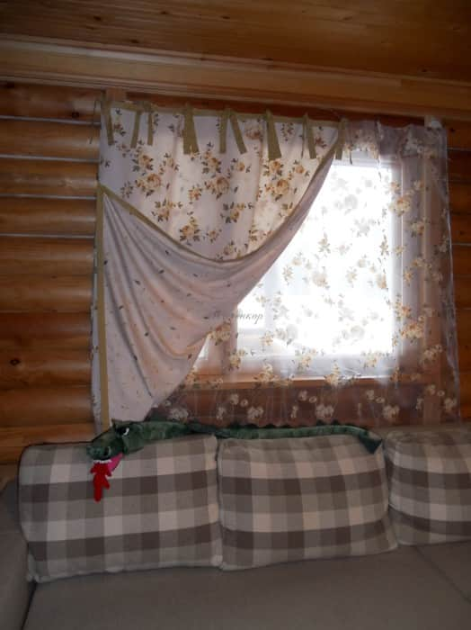 Фото штор 67: спальня