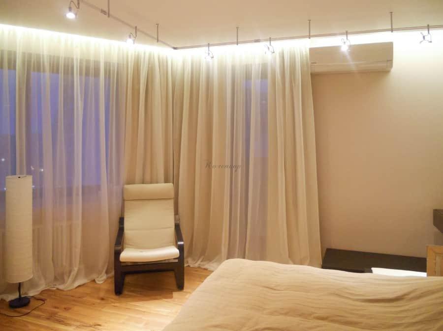 Фото штор 68: спальня
