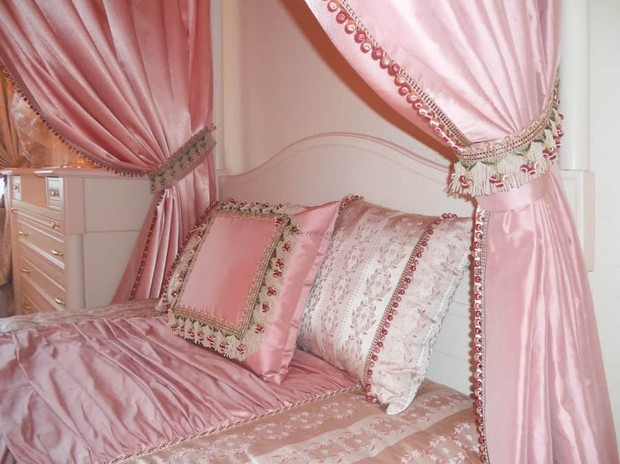 Фото штор 69: спальня