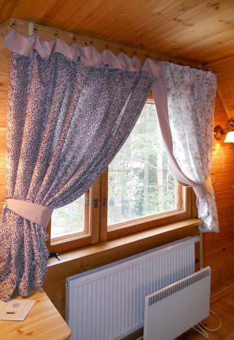 Фото штор 70: спальня