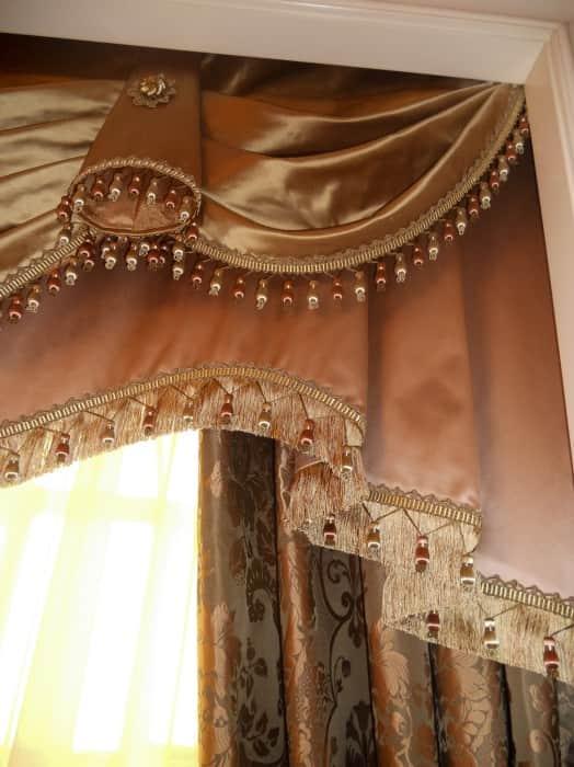 Фото штор 71: спальня