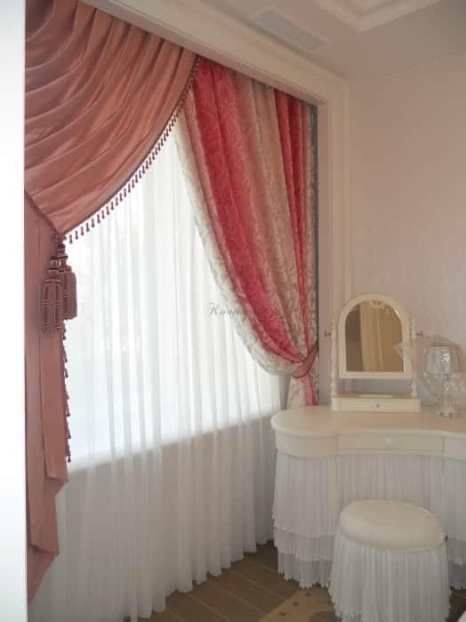 Фото штор 72: спальня