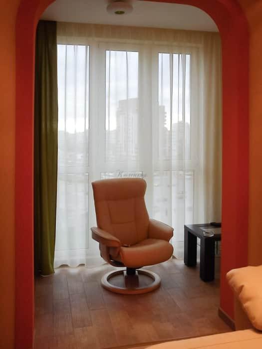 Фото штор 73: спальня
