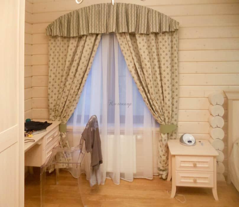 Фото штор 74: спальня