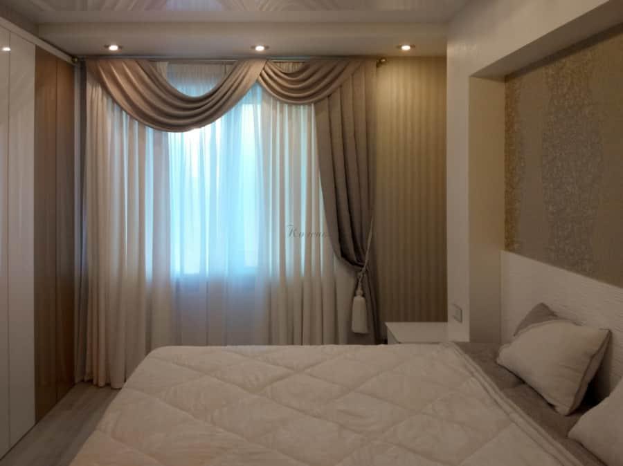 Фото штор 8: спальня