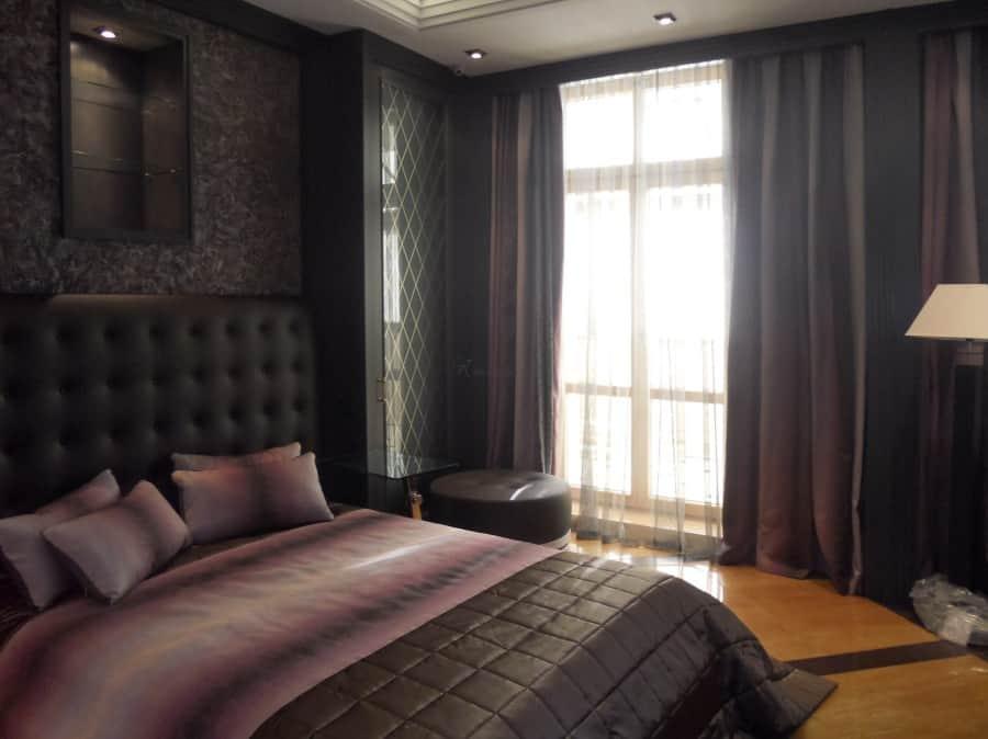 Фото штор 9: спальня