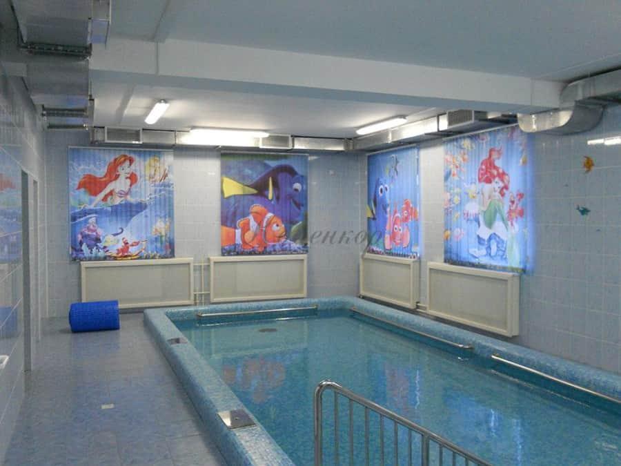 Фото штор 1: жалюзи, плиссе, рулонные шторы