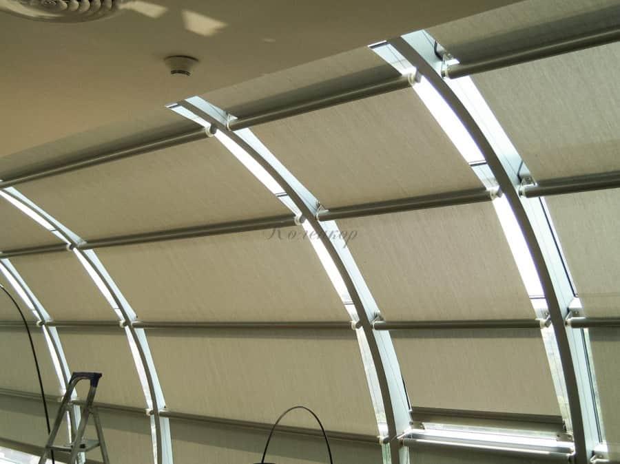 Фото штор 10: жалюзи, плиссе, рулонные шторы