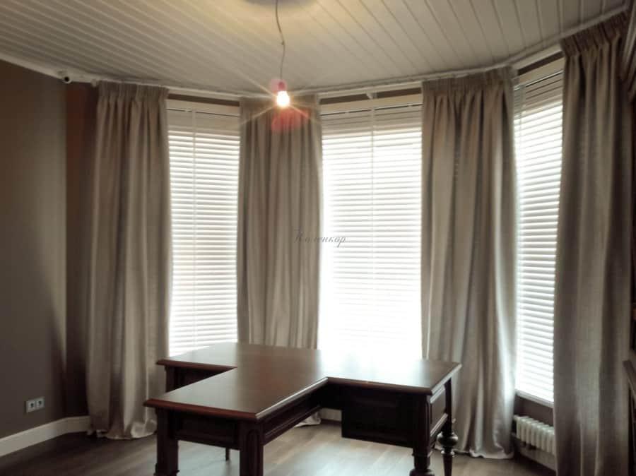 Фото штор 14: жалюзи, плиссе, рулонные шторы