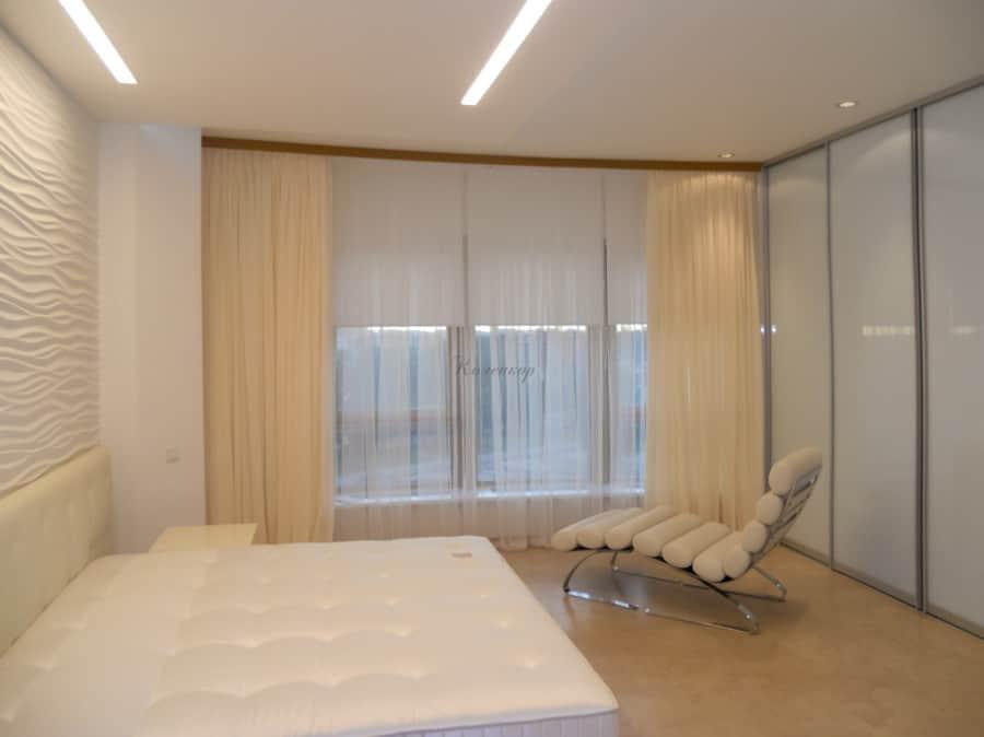 Фото штор 2: жалюзи, плиссе, рулонные шторы