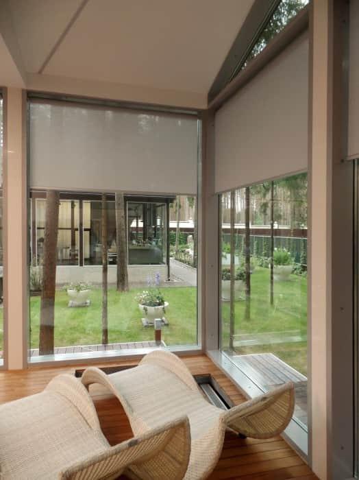 Фото штор 3: жалюзи, плиссе, рулонные шторы
