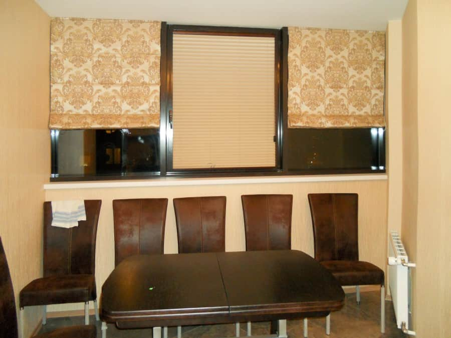 Фото штор 41: жалюзи, плиссе, рулонные шторы